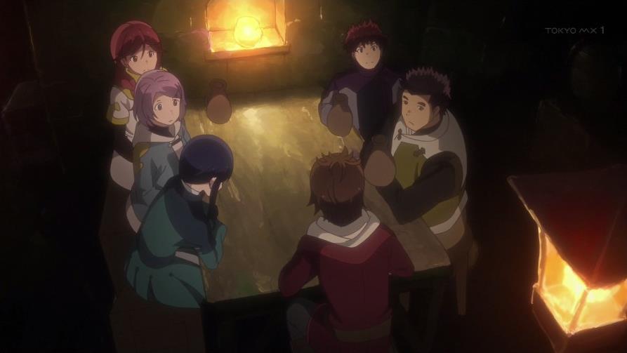 灰と幻想のグリムガル 9話 感想39