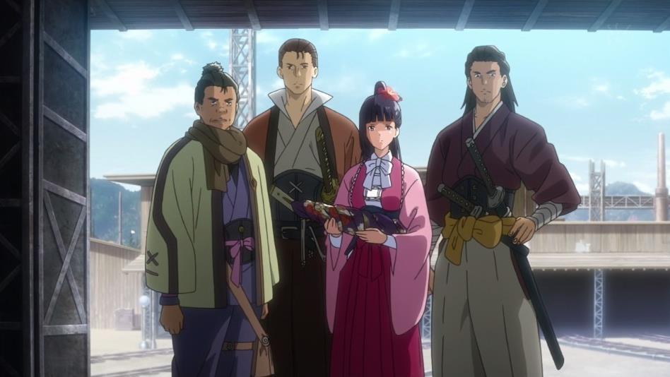 甲鉄城のカバネリ 1話 感想17
