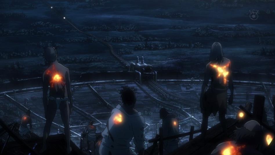 甲鉄城のカバネリ 1話 感想15